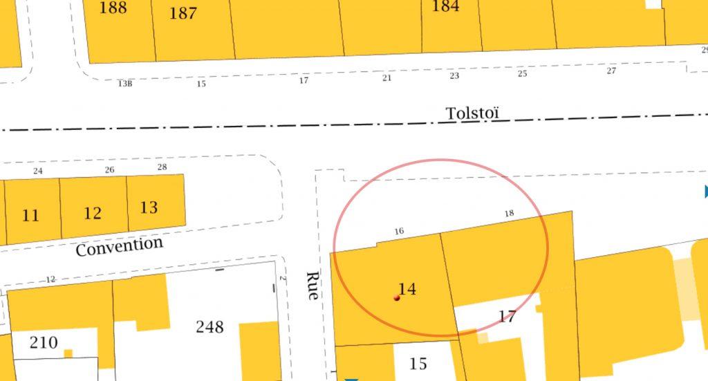 cadastre-gouv-parcelle-14-feuille-000-co-01-commune-villeurbanne-69