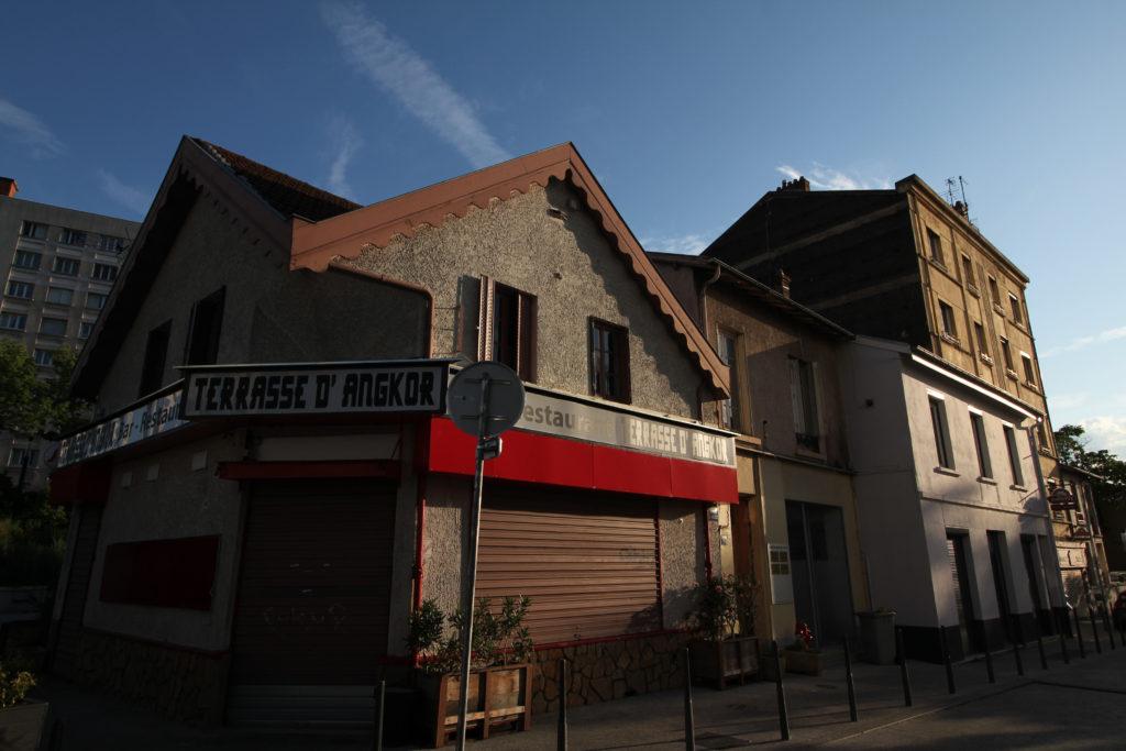 Extrémité rue du 4 aout 1789, Cusset