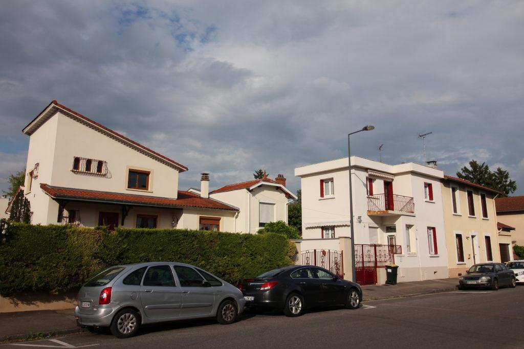 Extrémité Est rue Chateau Gaillard , Lotissement