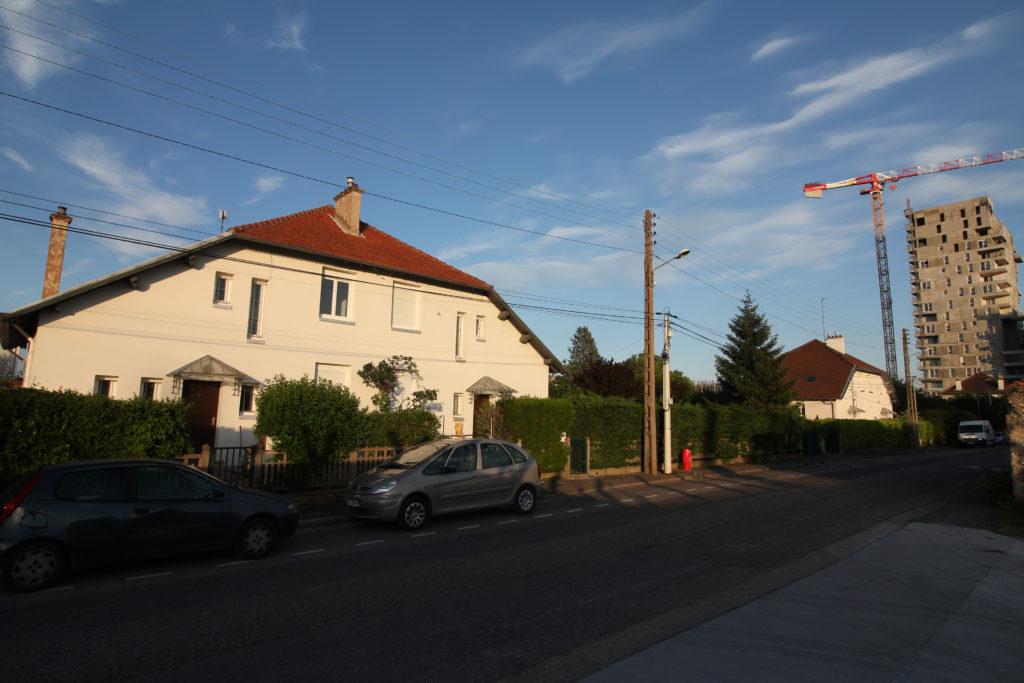 Avenue Ampère (La soie)