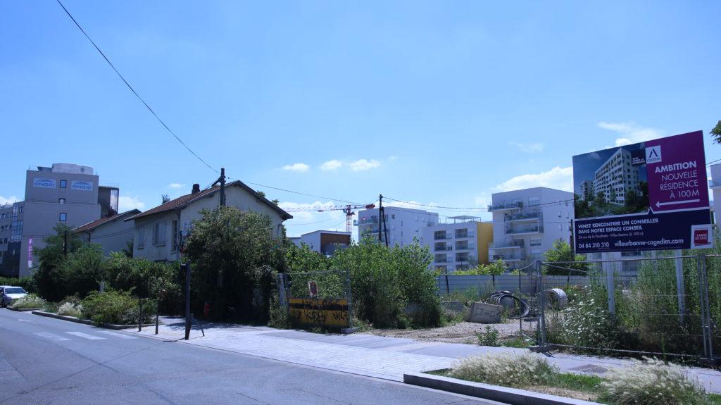 N° 22 et 24 rue de la poudrette Villeurbanne