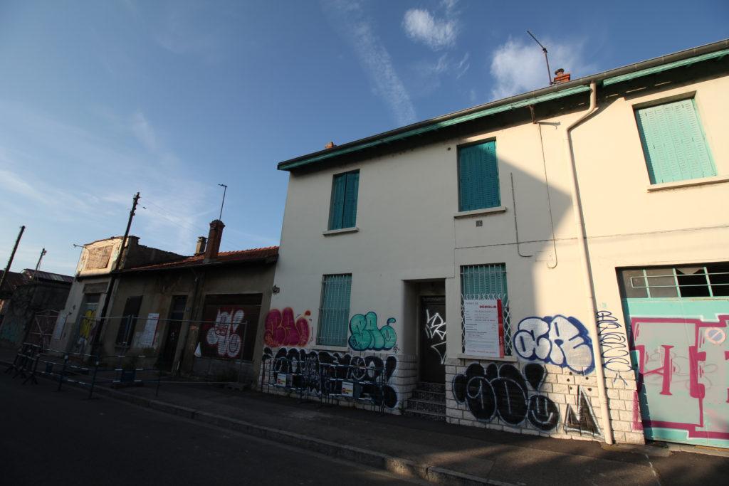 Rue Francia coté Nord-Est