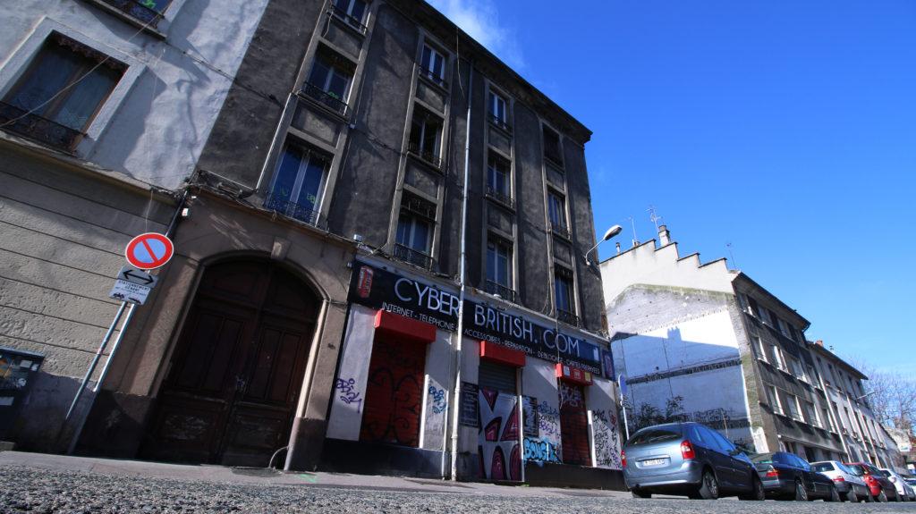 Rue Léon Chomel Villeurbanne