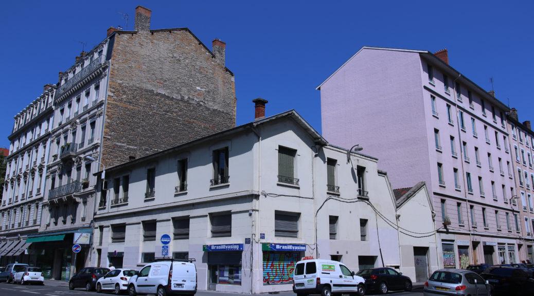Angle 5 rue Marc Bloch et rue Elie Rochette