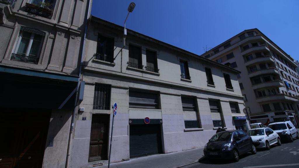 5 rue Marc Bloch façade sud