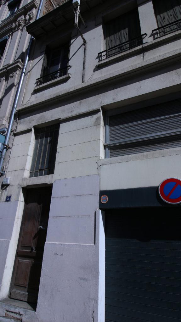 Entrée 5 rue Marc Bloch