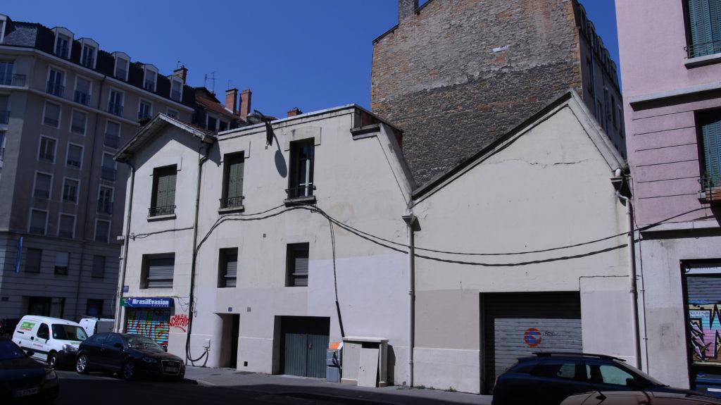 Façade rue Elie rochette Ets Petit & Mottet