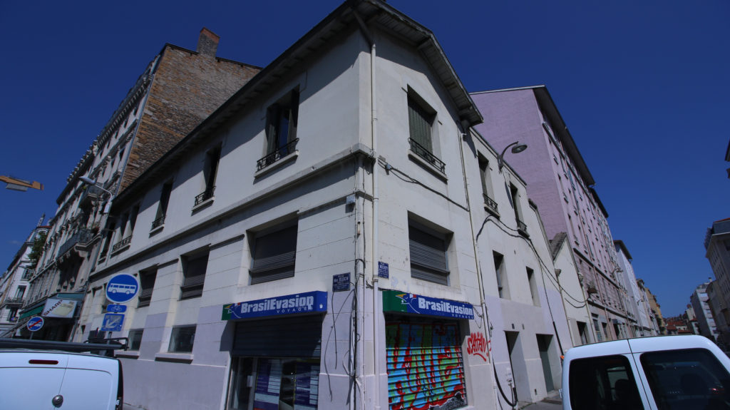 5 rue Marc Bloch angle Nord-Ouest