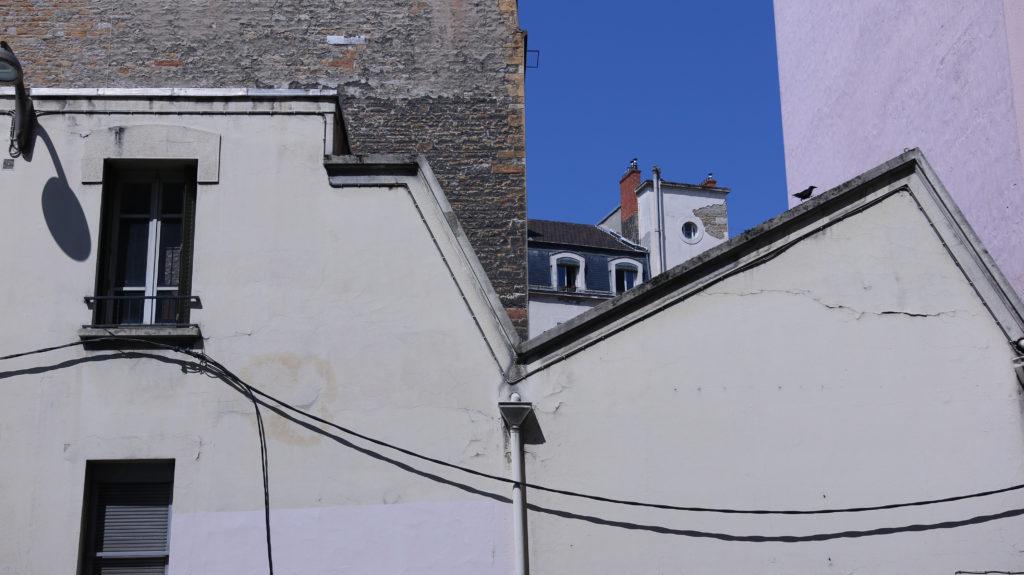 Détail rue Elie rochette, détails pentes et volumes