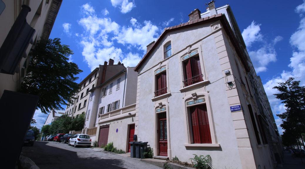 Enrtée de l'impasse des Chalets, Lyon