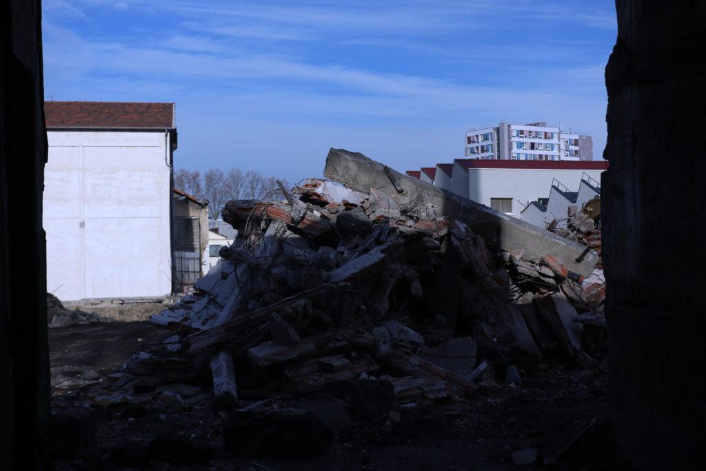 Av Galline usine démolition